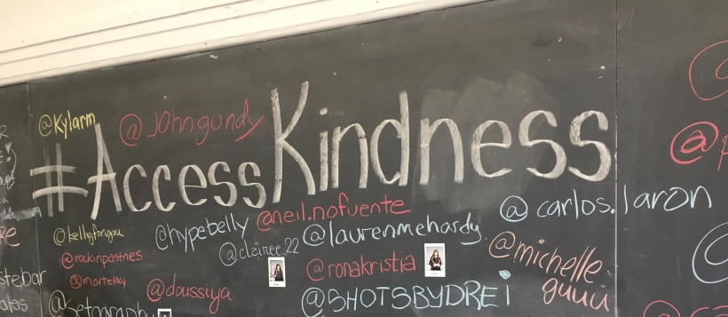 #AccessKindness instagram links